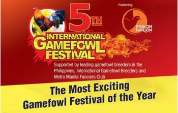 Alatone Plastics Inc joins the 5TH INTERNATIONAL GAMEFOWL FESTIVAL 2018