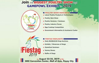 Alatone Plastics Incorporated in the the Biggest Poultry & Game Fowl Exhibit in 2019