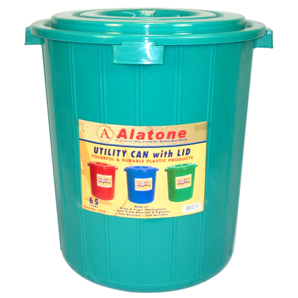 65 Liters Utility Can w/ Cover