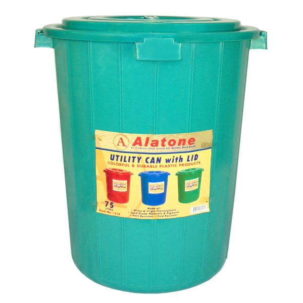 75 Liters Utility Can w/ Cover