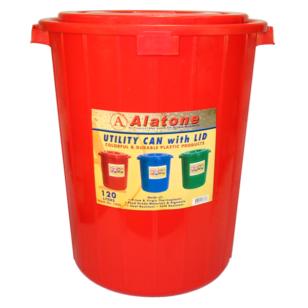 120 Liters Can w/ Cover